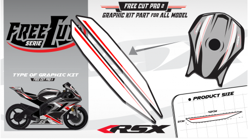 Fuel tank F2 Graphic kit