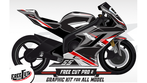 F2 Graphic kit FreeCut