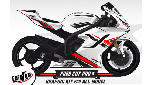 F1 Graphic kit FreeCut