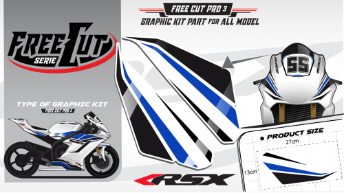Head fork F3 Graphic kit
