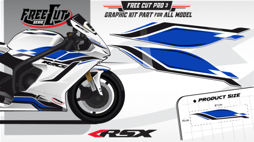 Flank F3 Graphic kit