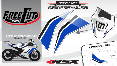 Rear seat F5 Graphic kit
