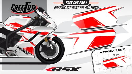 Flank F6 Graphic kit