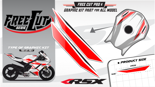 Fuel tank F5 Graphic kit