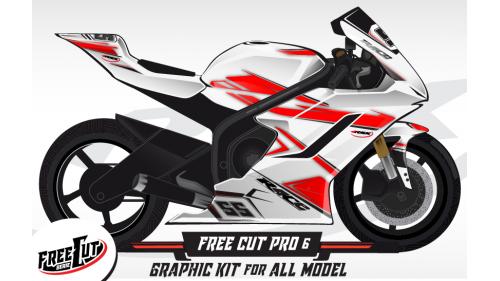 F5 Graphic kit FreeCut
