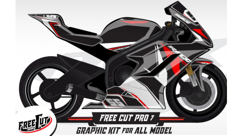 F7 Graphic kit FreeCut