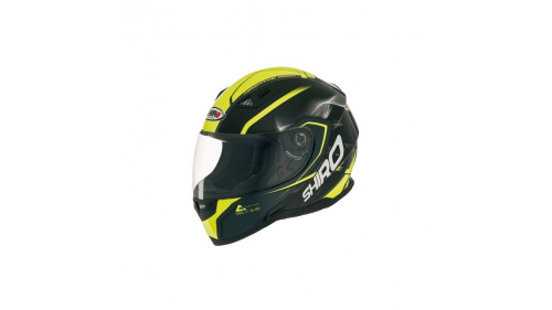HELMET SHIRO SH-881 YELLOW FLUO
