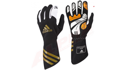 GLOVES BLACK/GOLD ADIDAS XLT