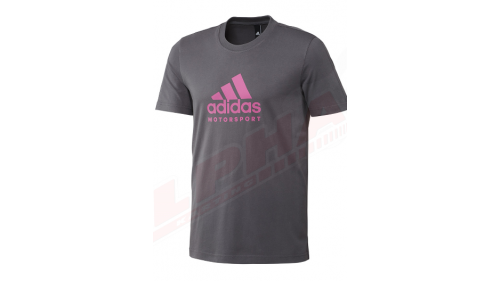 TEE SHIRT ADIDAS KARTING TEE ROSE