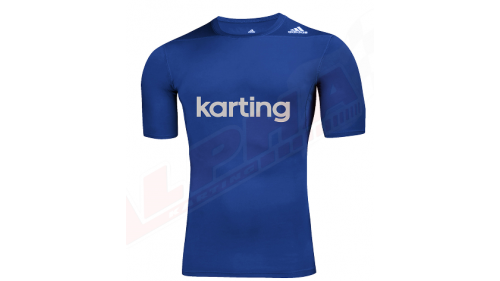 TEE SHIRT ADIDAS KARTING TEE BLUE