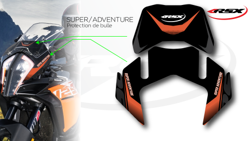 ADVENTURE FRONT FENDER PROTECTOR
