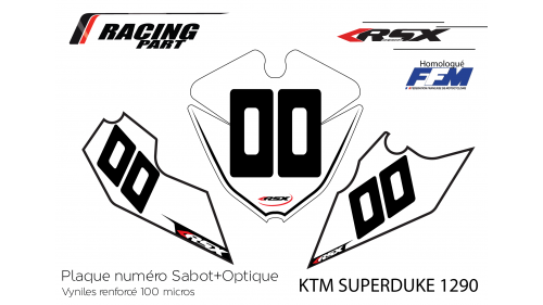 KTM SD1290 plate number