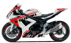 SUZUKI GSXR 600 2011et +
