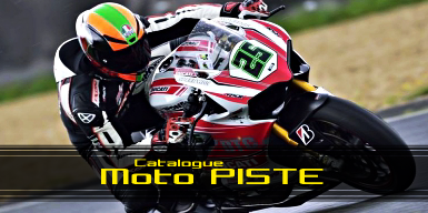 Catalogue moto piste
